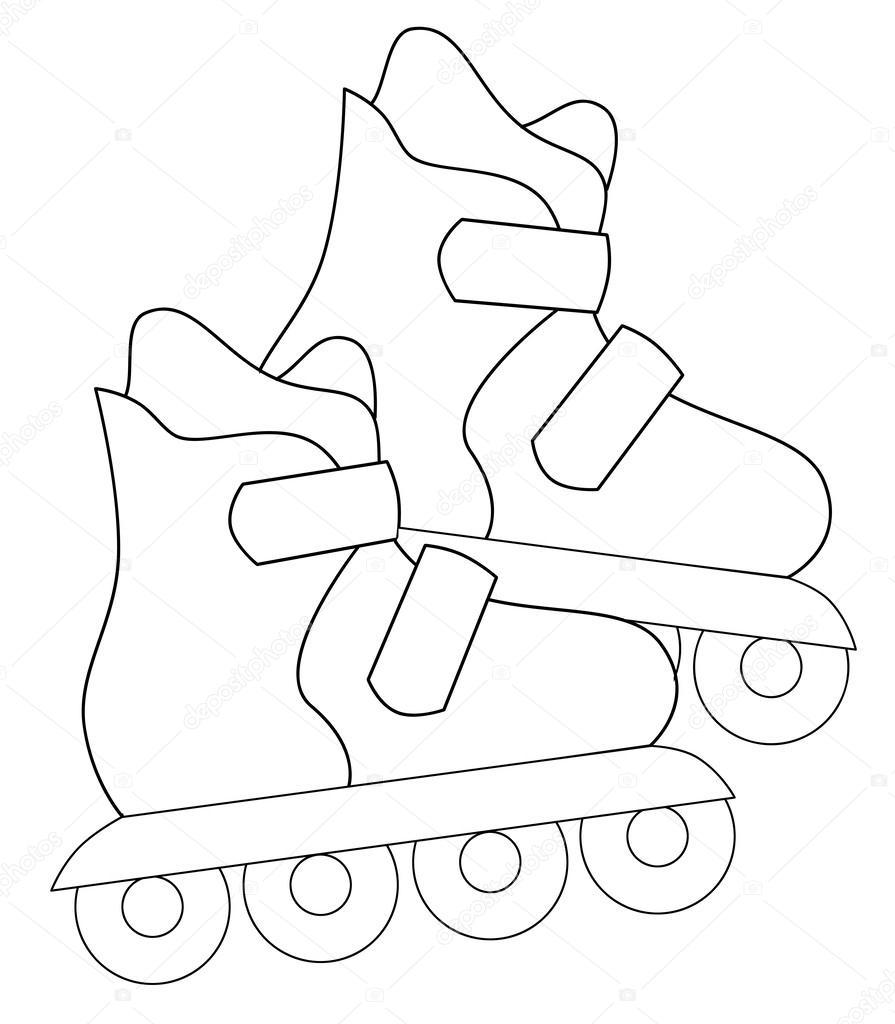 895x1024 Roller Skates