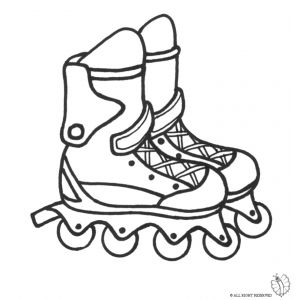 Rollerblade Drawing