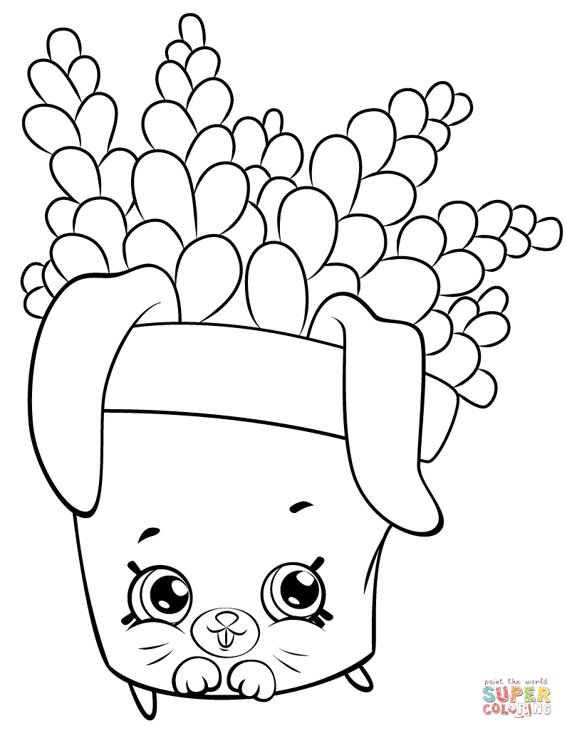796x1030 Rollerblades Shopkin Coloring Page Free Printable Coloring Pages