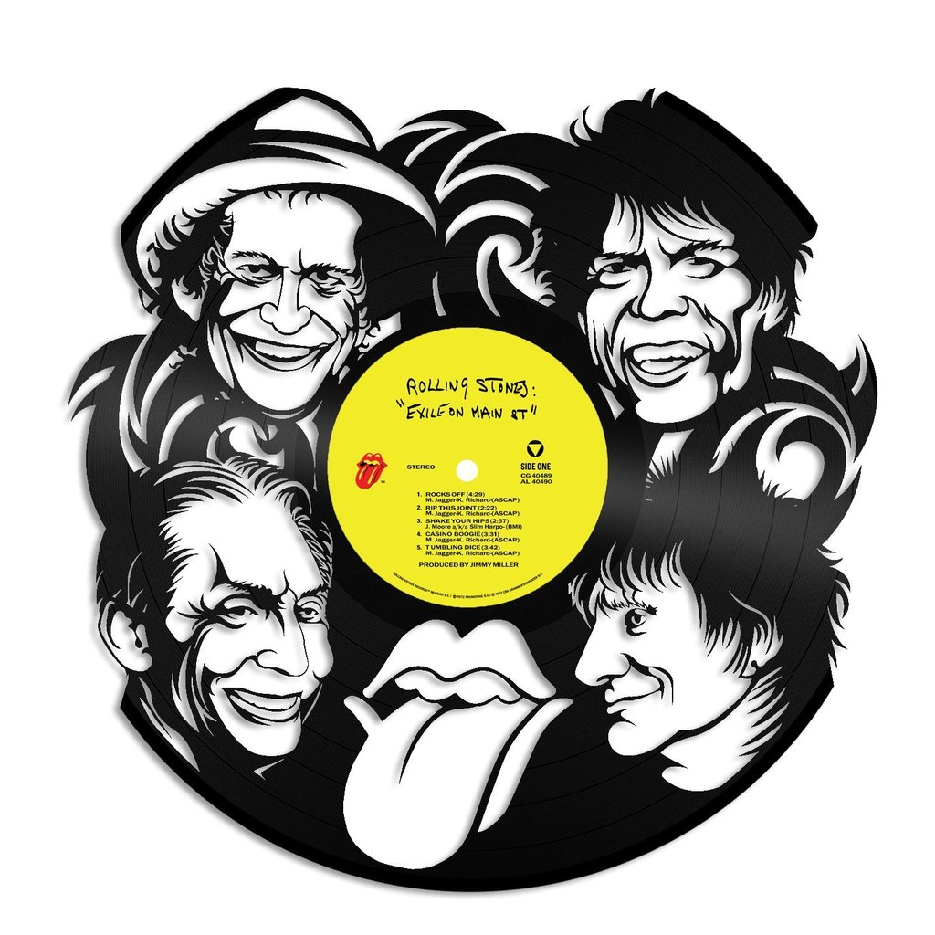 1024x1024 Rolling Stones Vinyl Wall Art Vinylshop.us
