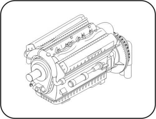 500x381 Rolls Royce Merlin Srs 20 Engine