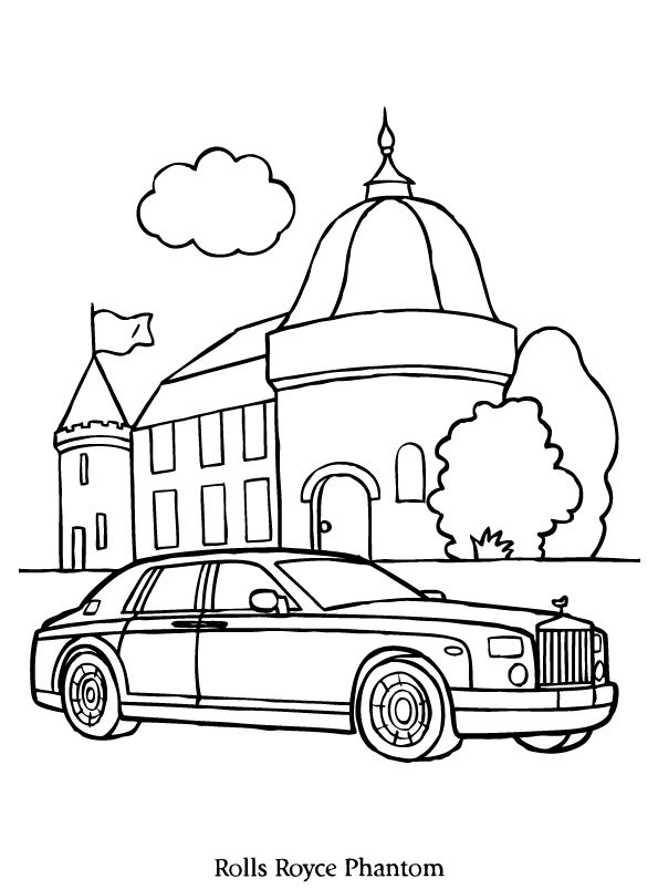 Rolls Royce Drawing At Getdrawings Com Free For Personal Use Rolls