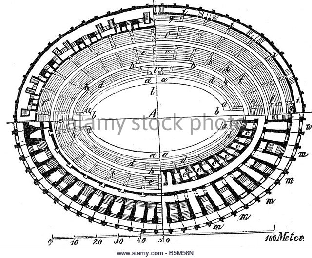 640x531 Architecture Ancient World Amphitheatre Floor Stock Photos