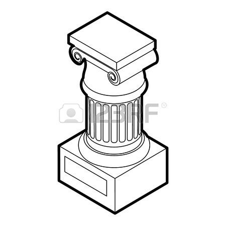 Roman Columns Drawing