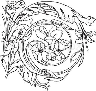 320x305 Roman Pillar Icon. Outline Illustration Of Roman Pillar Vector