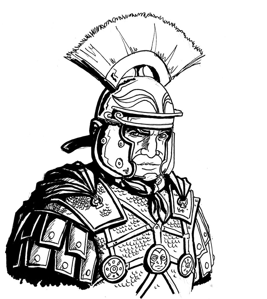 Roman Soldier Drawing at GetDrawings.com | Free for personal use ...