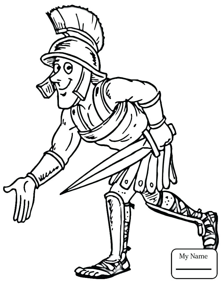 765x980 Fresh Roman Soldier Coloring Page Best Of Ancient And Empire