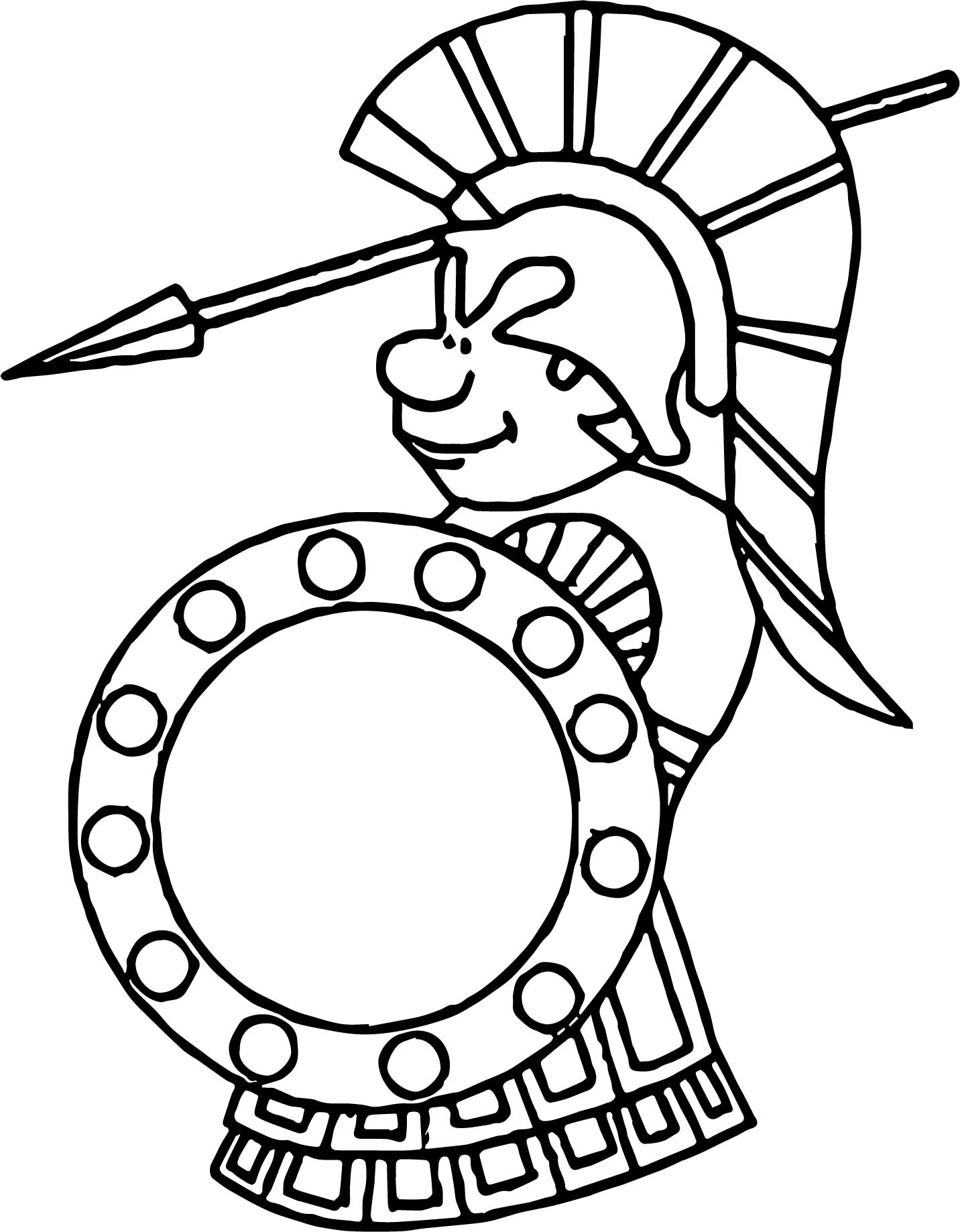 1432x1838 Roman Soldier Attack Coloring Page Wecoloringpage