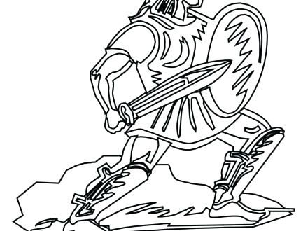 440x330 Roman Soldier Coloring Page Coloring Page Coloring Home Roman Army
