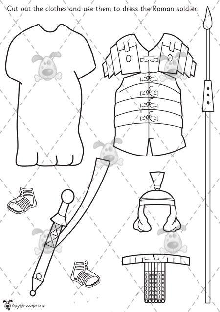 450x636 Roman Soldier Template Roman Soldiers On Roman Legion
