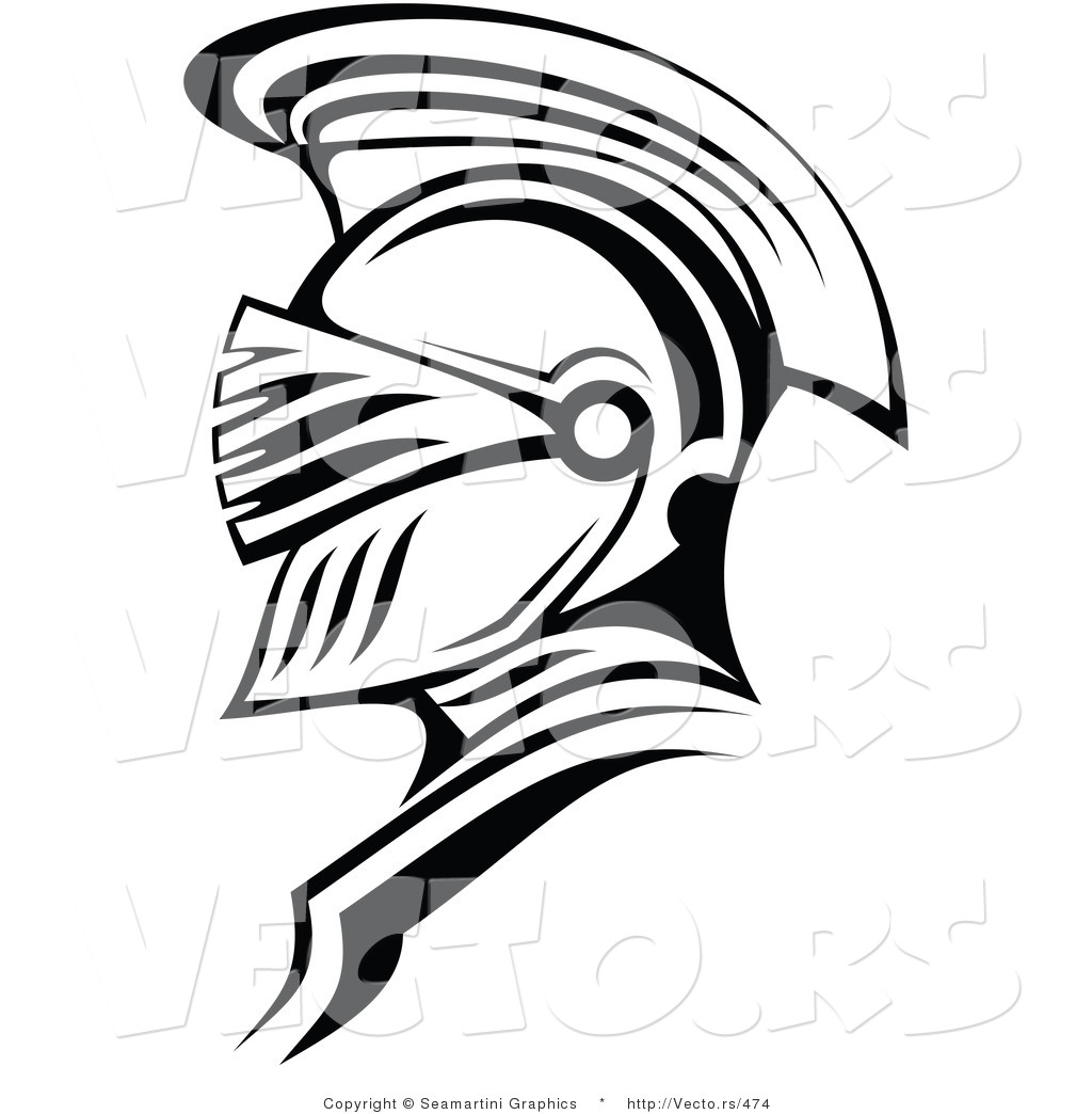 1024x1044 Vector Of A Roman Soldier Outline By Vector Tradition Sm