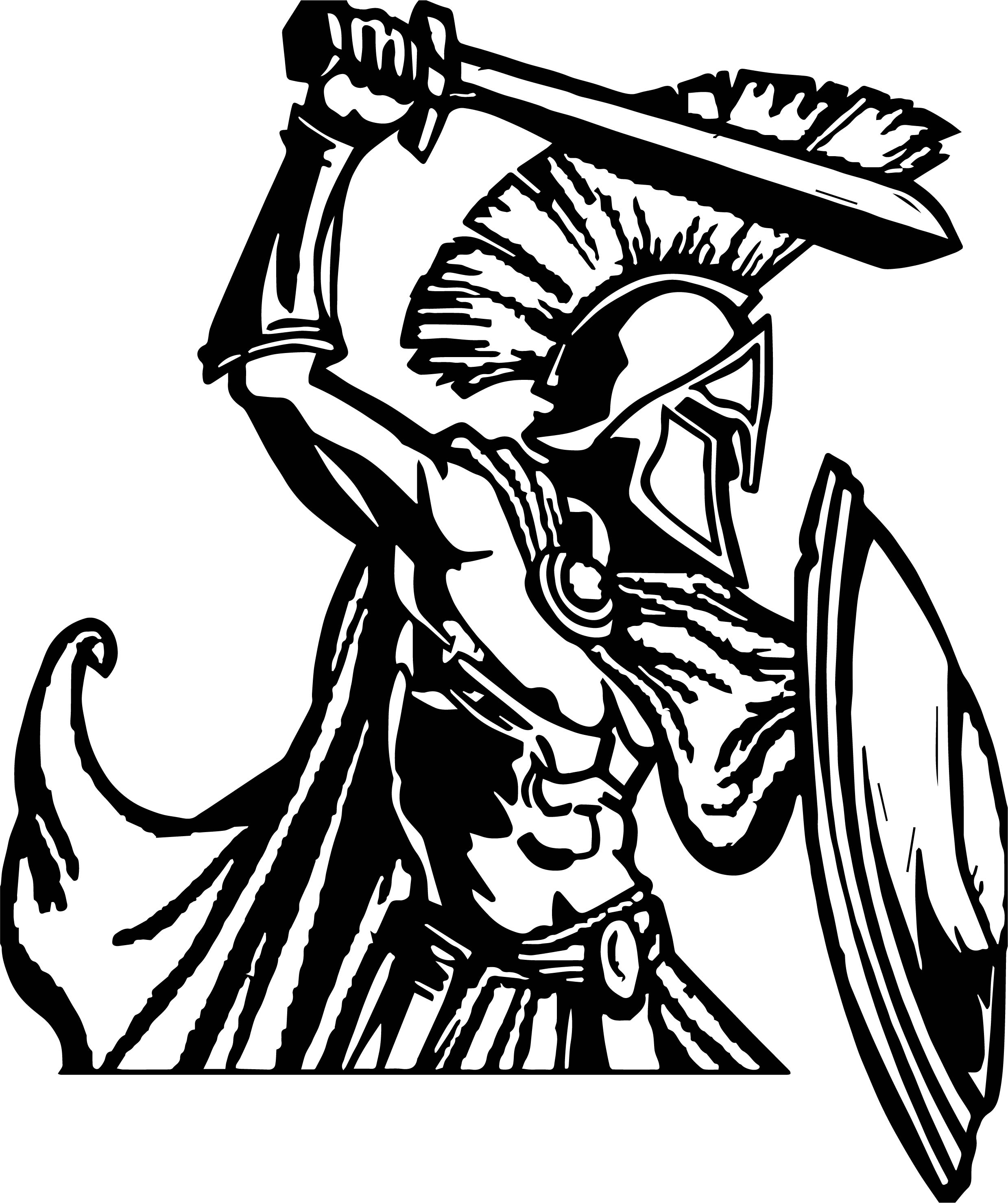 2478x2958 Trojan War Coloring Page Army Gun Coloring Pages