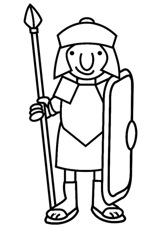 531x750 Coloring Page Roman Soldier Romans Roman Soldiers