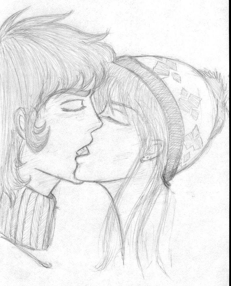 800x992 Romantic Anime Drawings