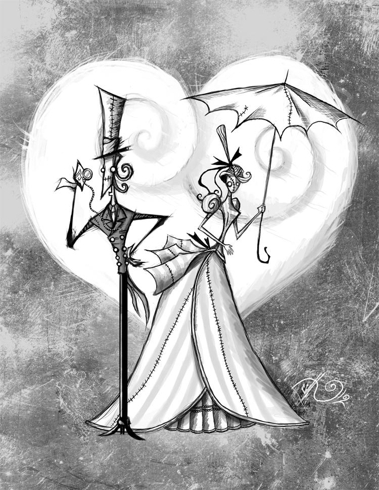 750x971 Gothic Romance V By Bunnybennett