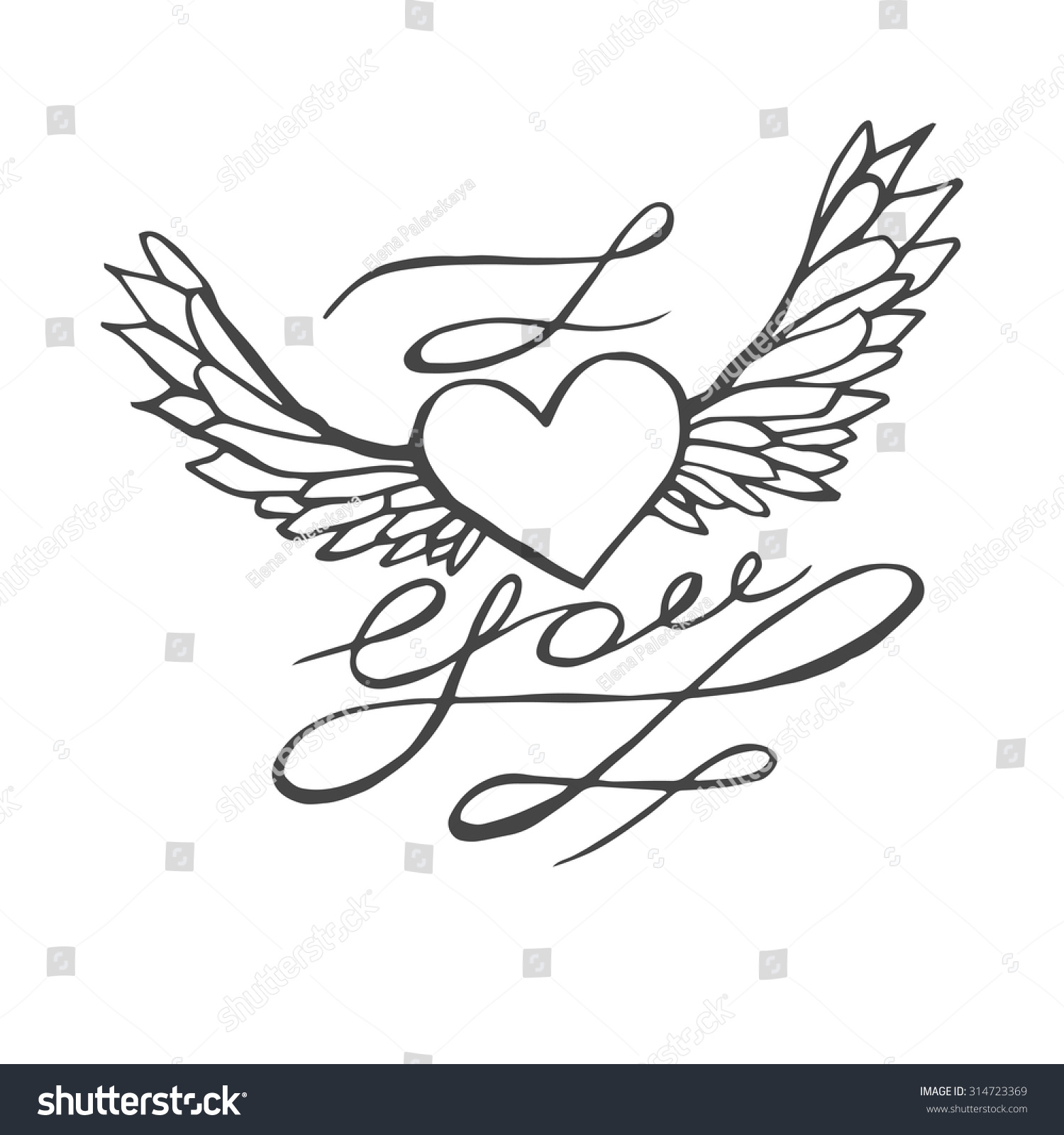 1500x1600 Gallery Romantic Heart Drawings,