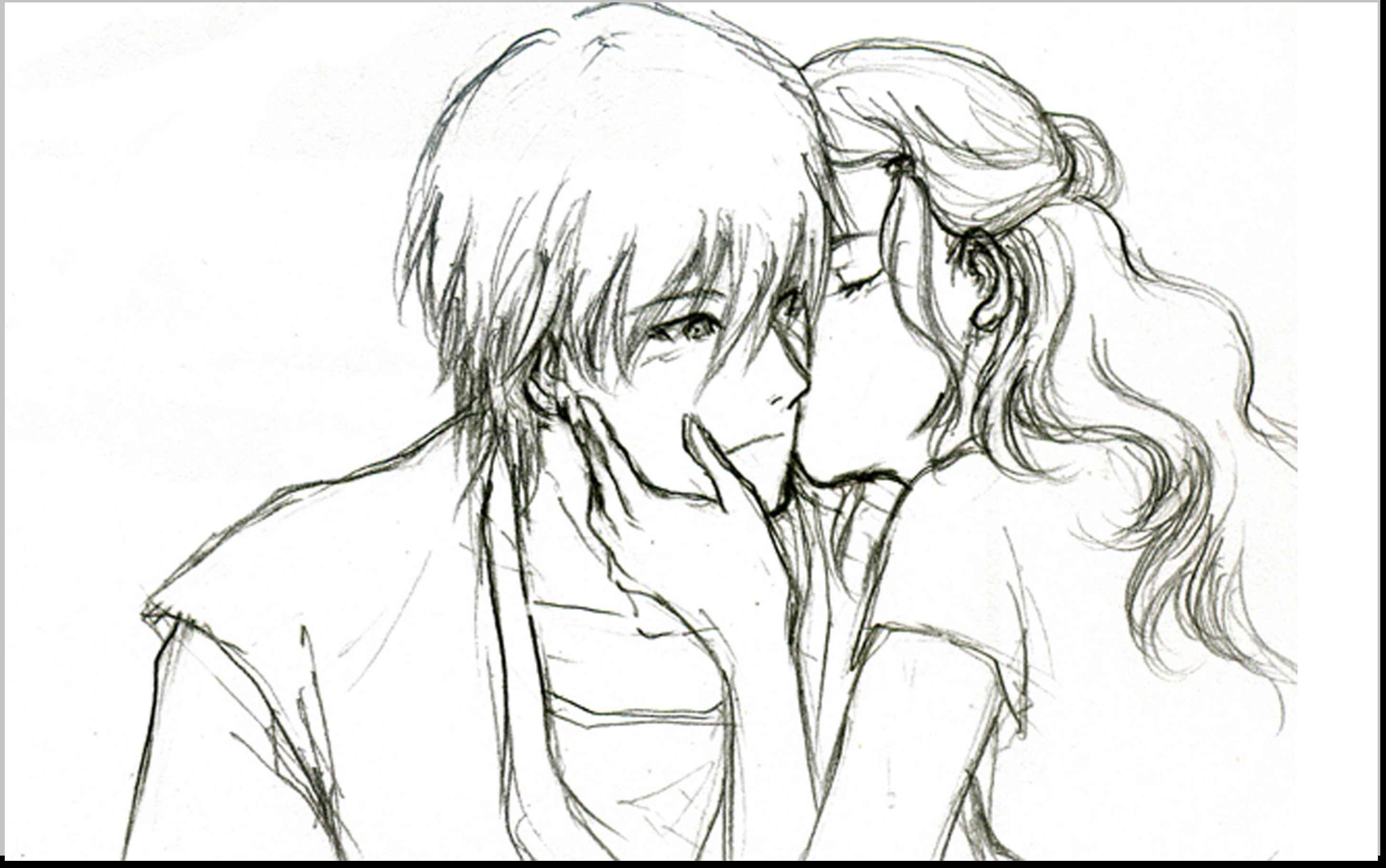 2907x1820 New Simple Drawing New Simple And Romantic Pencil Drawing Romantic