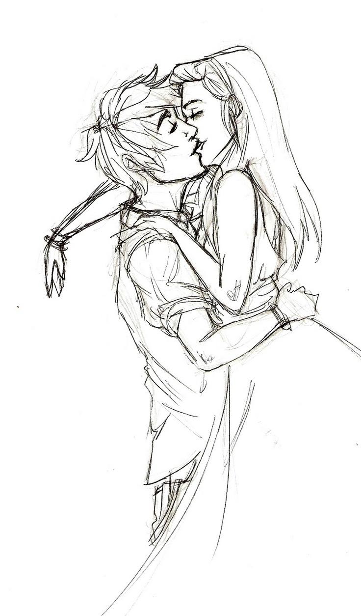736x1254 Art Drawing Girlfriend Boyfriend Romantic Pencil Sketch Drawing