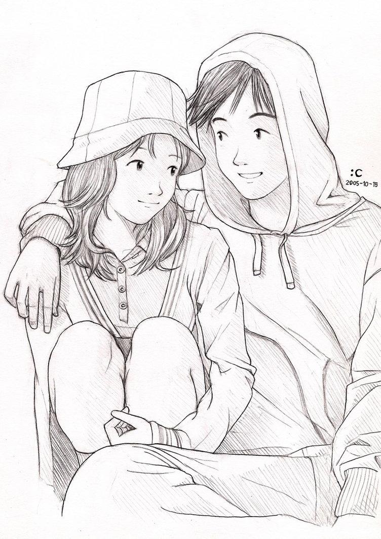 752x1063 Best Romantic Couple Sketch Image Best Love Romantic Couple Sketch