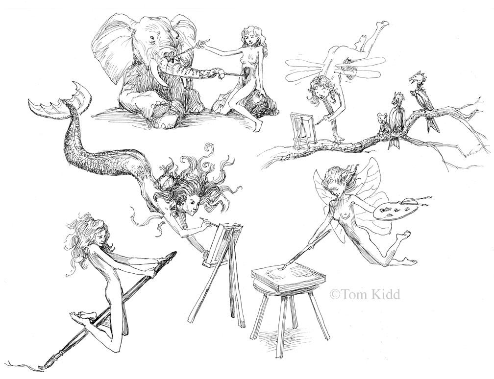 1008x774 Kiddography Micron Pen Drawings