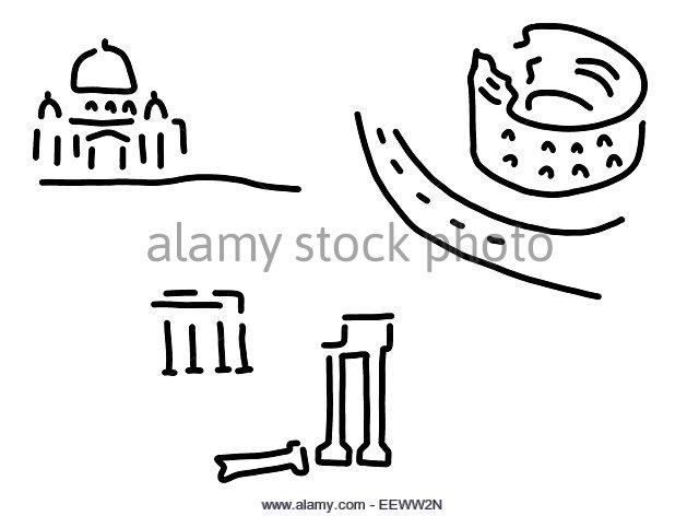 640x472 Roman Forum Illustration Stock Photos Amp Roman Forum Illustration