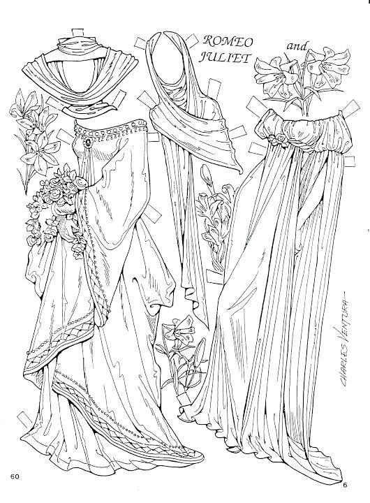 530x720 Romeo And Juliet Coloring Pages