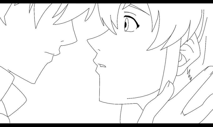 900x540 Romeo And Juliet Line Art By Jakecbiebs