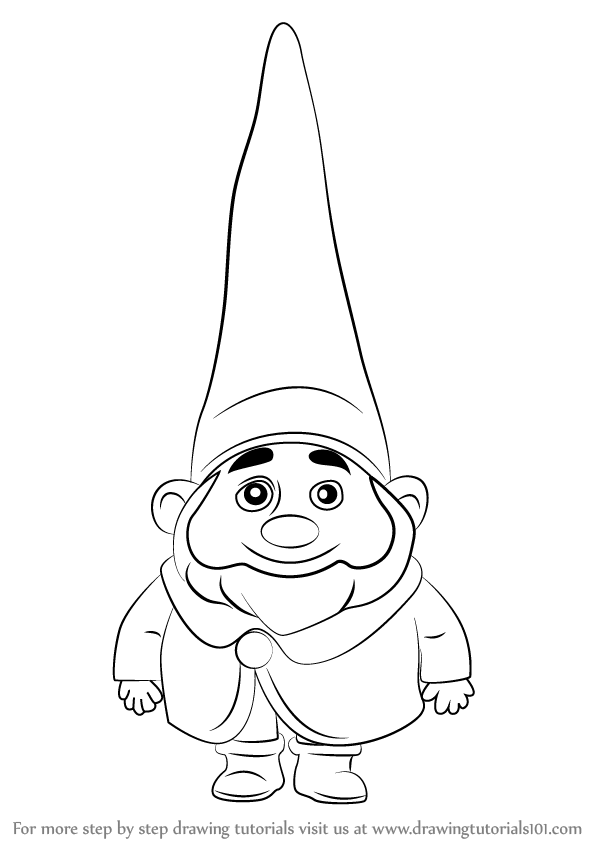 598x844 Learn How To Draw Benny From Gnomeo Amp Juliet (Gnomeo Amp Juliet