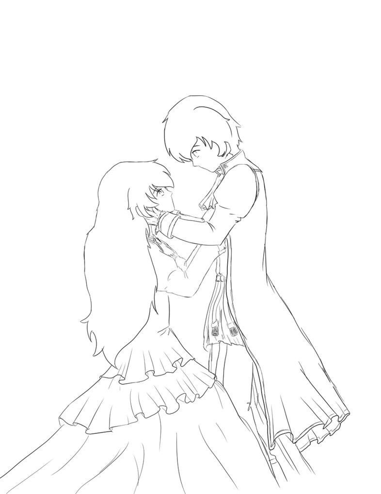 786x1017 Romeo juliet by kikyo15 on deviantart, Anime drawings of juliet