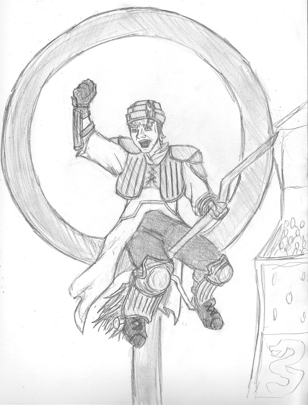 Ron Weasley Drawing