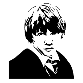 270x270 Ron Weasley Stencil Free Stencil Gallery