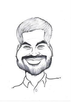 236x336 Colour Caricature From Photo Yorkshire Caricaturist 283