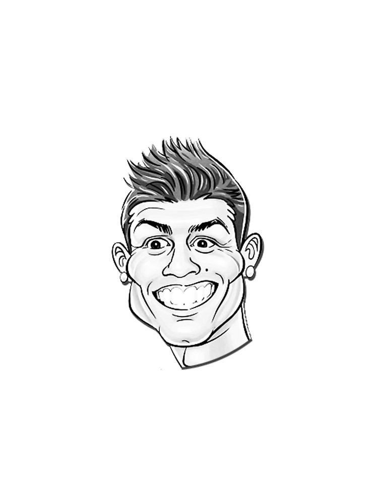 750x1000 Cristiano Ronaldo For Funny Cr7 Graphic T Shirt By Skpixel