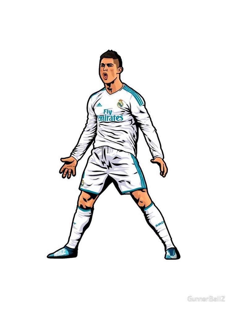 750x1000 Cristiano Ronaldo Iphone Cases Amp Skins By Gunnerballz Redbubble