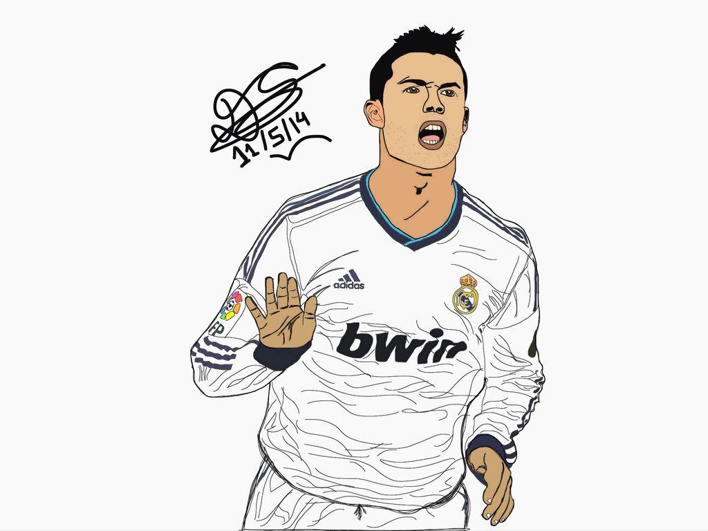 1024x768 Ronaldo Calma By Daipayaanc