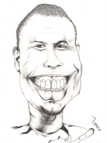 375x500 Ronaldo By Jaime Ortega Sports Cartoon Toonpool