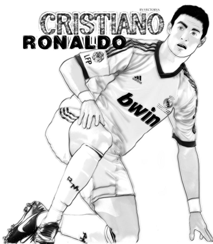 836x955 Cristiano Ronaldo By Wad0nnaart