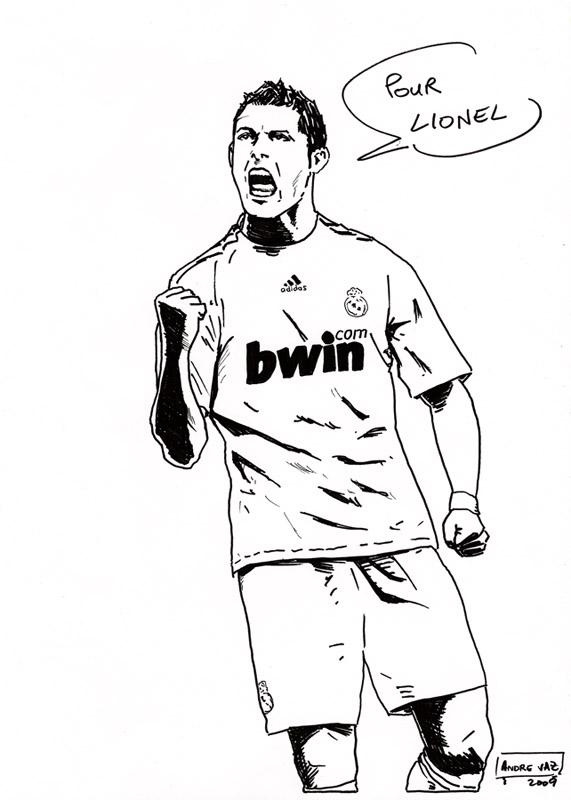 571x800 Cristiano Ronaldo Cr9 By Andre Vaz