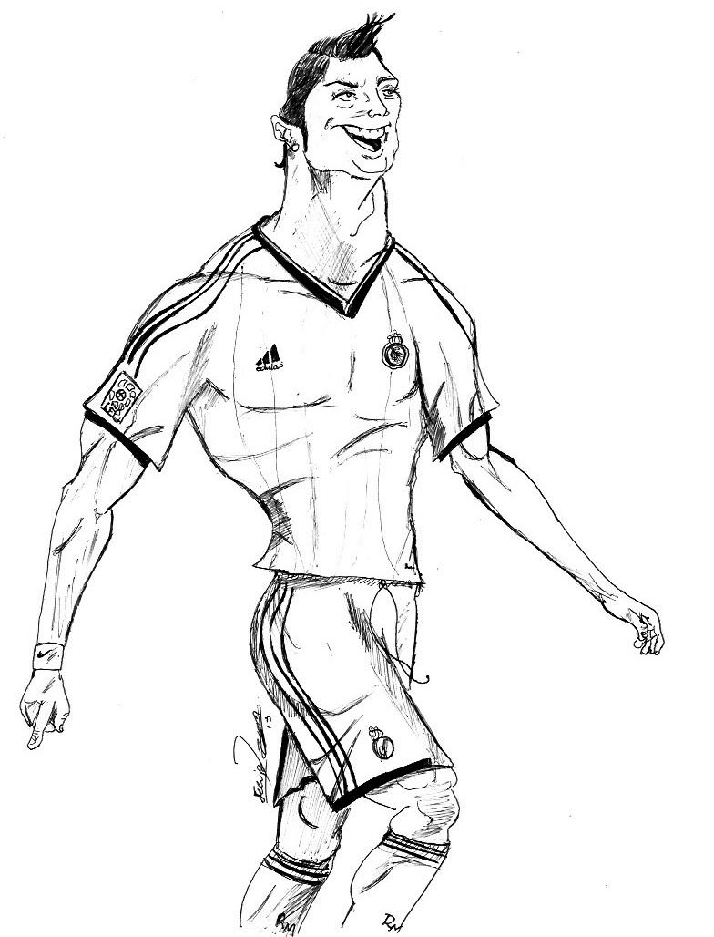 784x1028 Cristiano Ronaldo (Caricatura) Minha Arte