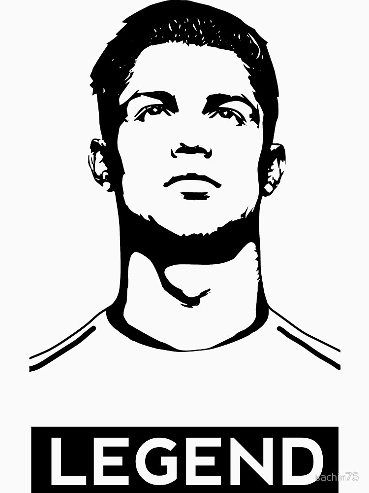750x1000 Cristiano Ronaldo Poster By Sachindesign