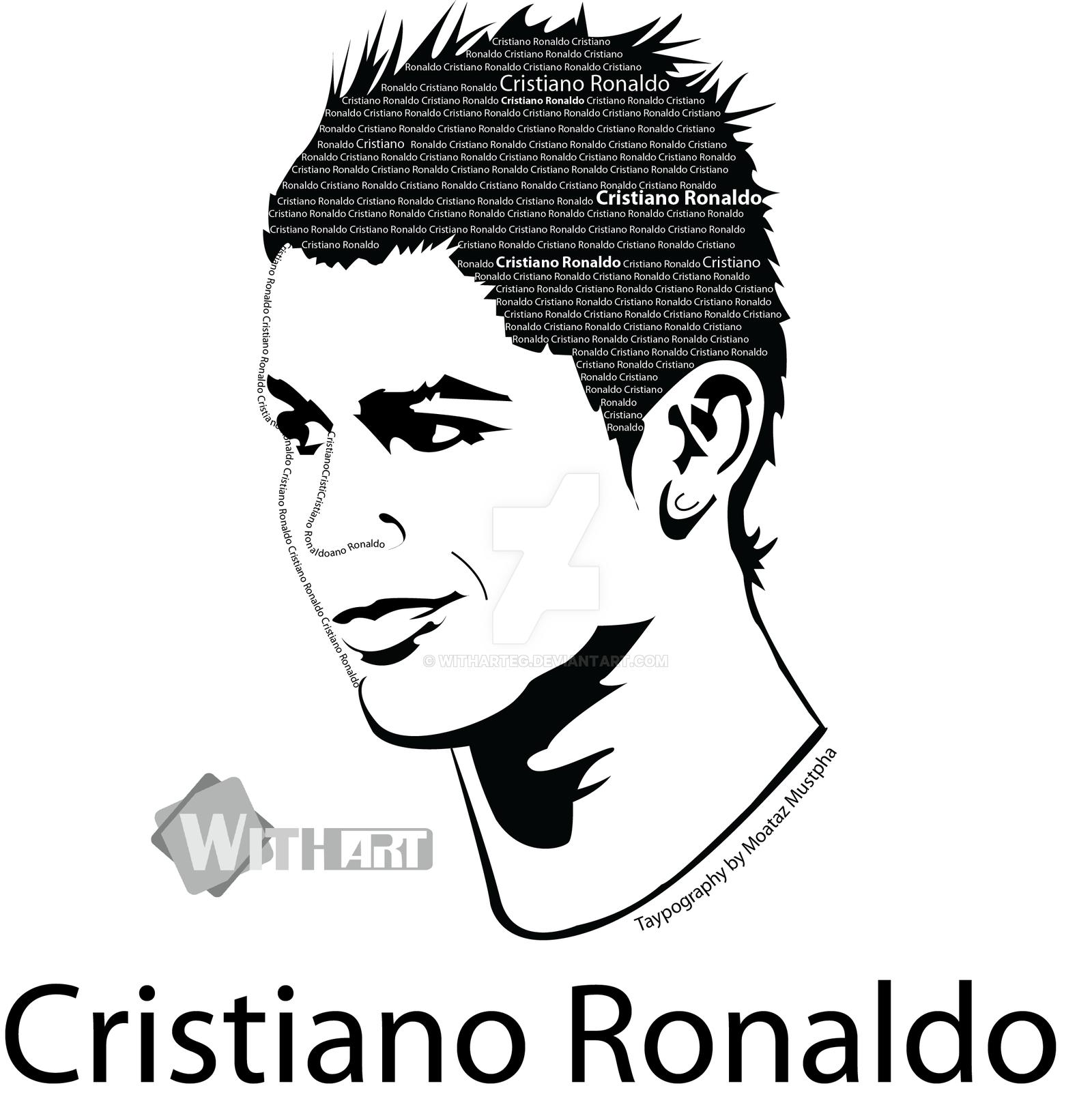 1600x1639 Cristiano Ronaldo By Witharteg