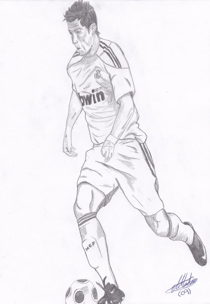707x1024 Cristiano Ronaldo Mi Primer Dibujo De Cuerpo Entero,