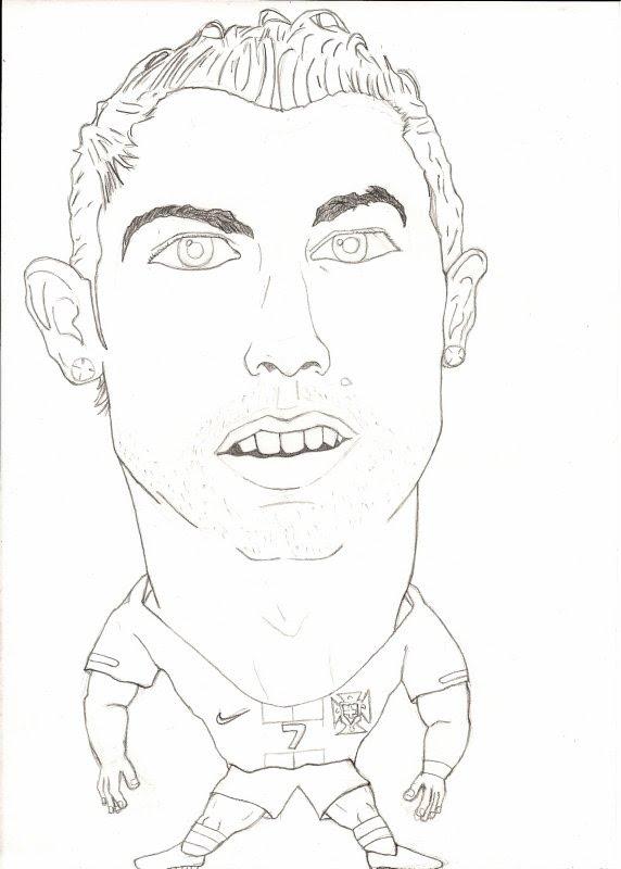572x800 Caricatura Cristiano Ronaldo Copa Da Africa By Kahyuavieira