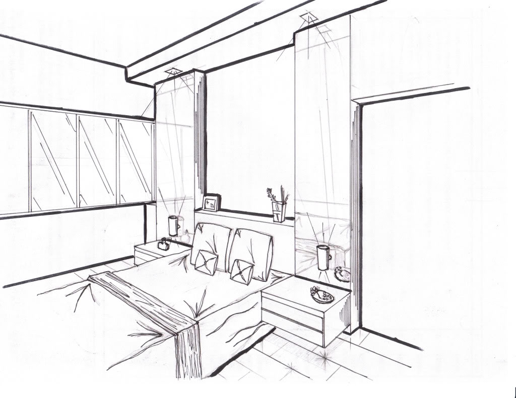 1024x791 3d Drawing Image Of Rooms 3d Room Venue Drawing