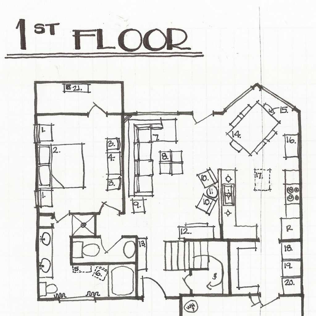 1024x1024 How To Draw Floor Plans By Hand