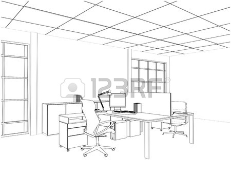 450x343 Interior Office Rooms Royalty Free Cliparts, Vectors, And Stock