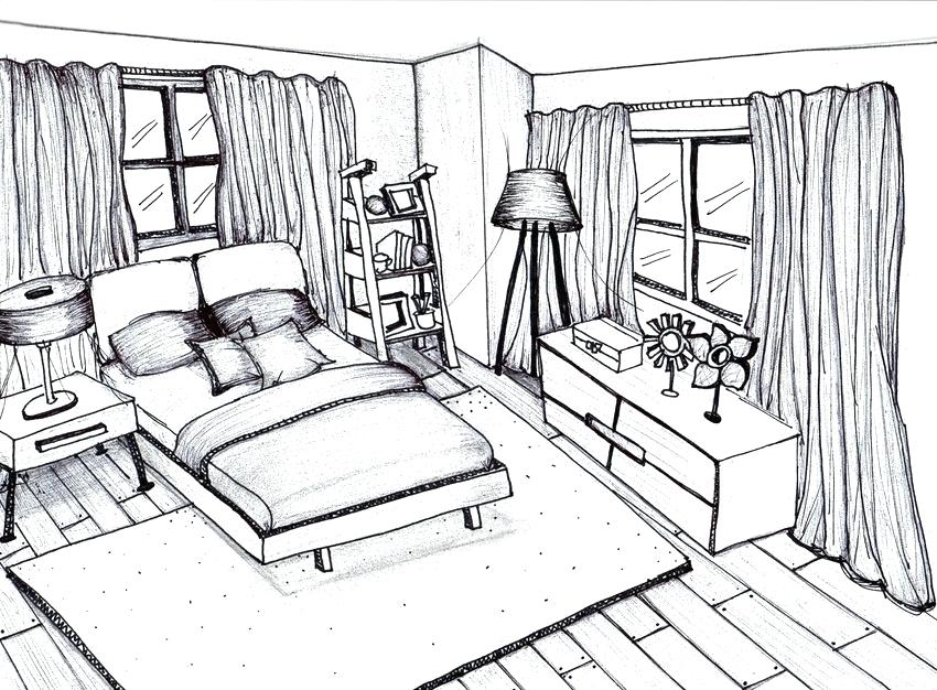 850x626 Kids Bedroom Drawing Application Architectures Definition