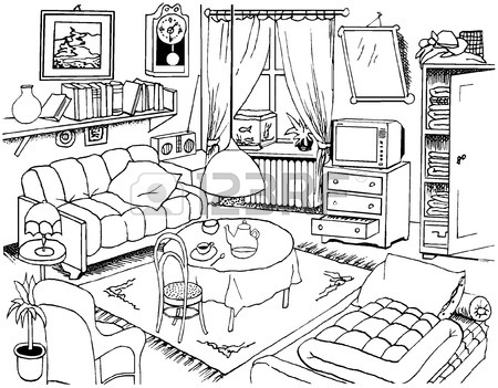 450x351 Room Technical Drawing