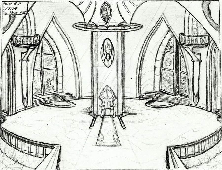900x690 The Royal Palace's Throne Room By Sorteagan