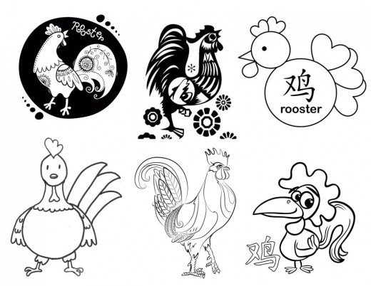 520x402 Kid Crafts For Year Of The Rooster Chinese New Year Art Projects